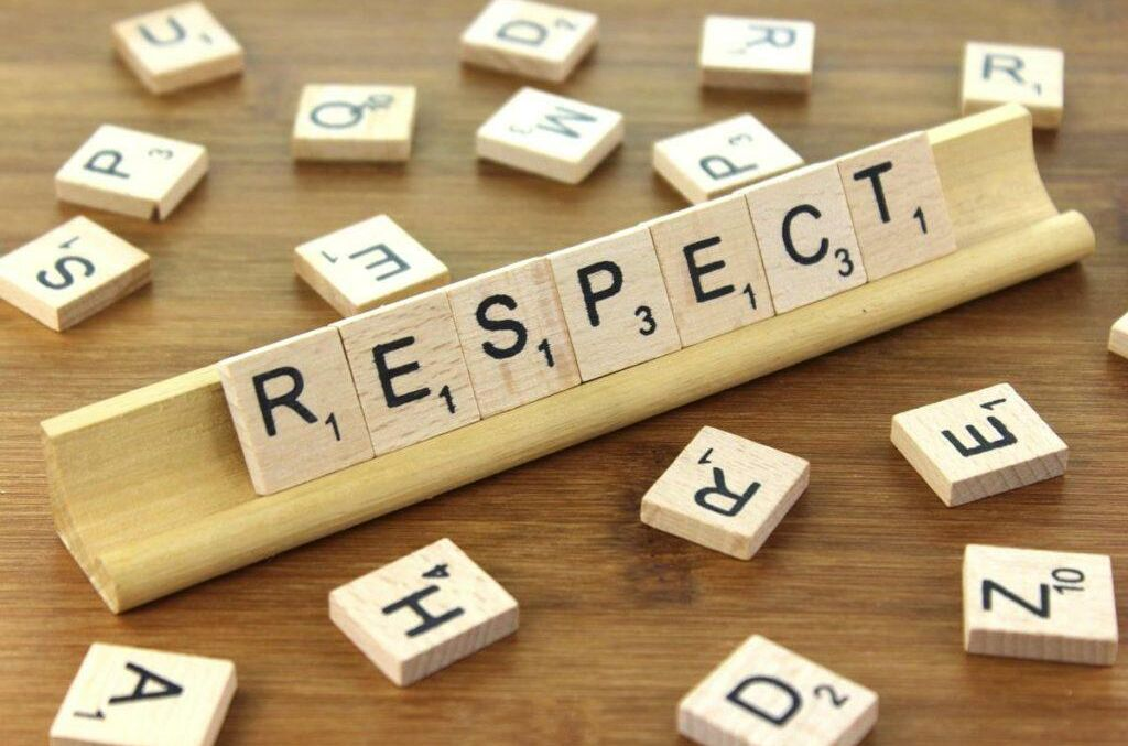 Our Value for Term 1 — Respect