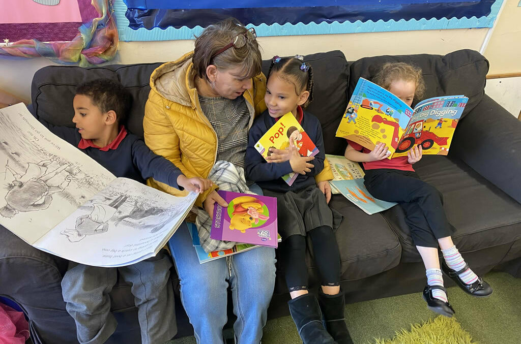Reception Class - Linger & Learn Session 13th February 2020